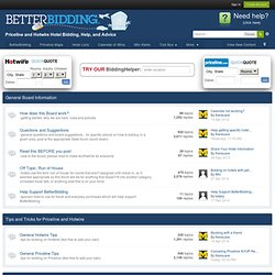 Priceline and Hotwire Forum