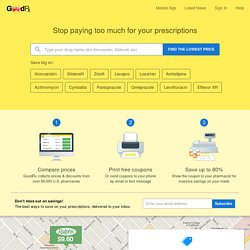 GoodRx - Prescription Drug Prices at Local and Online Pharmacies