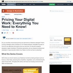 Pricing Your Digital Work: Everything You Need to Know!