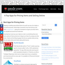 6 Top Apps for Pricing Items and Selling Online - Garage Sale Blog