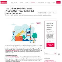 5 Best Event Pricing Strategies to Boost Online Ticket Sales