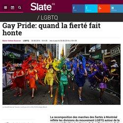 Gay Pride: quand la fierté fait honte