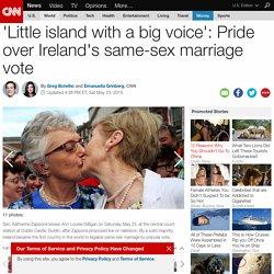 Pride over Ireland's same-sex marriage vote