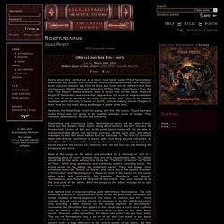 Judas Priest - Nostradamus - Reviews