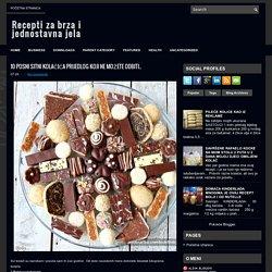 10 POSNI SITNI KOLAČIĆA PRIJEDLOG KOJI NE MOŽETE ODBITI.. ~ Recepti za brza i jednostavna jela