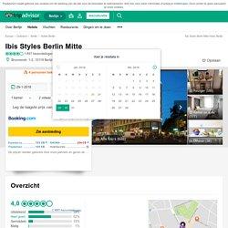 Ibis Styles Berlin Mitte (Berlijn, Duitsland) - foto's, reviews en prijsvergelijking - TripAdvisor