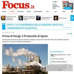 Prima di Parigi: il Protocollo di Kyoto
