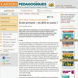 École primaire : les BCD en sursis