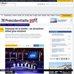Jeudi 3 Novembre 2016, second débat de la droite pour les primaires. - Primaire de la droite: un deuxième débat plus virulent