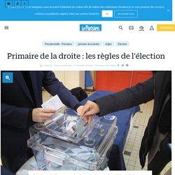 Primaire de la droite : les règles de l'élection - Le Parisien