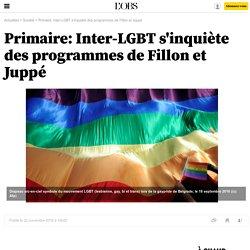 Primaire: Inter-LGBT s'inquiète des programmes de Fillon et Juppé