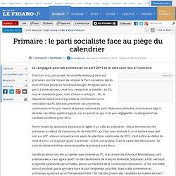 Politique : Primaire: le parti socialiste face au p