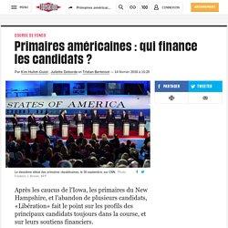 Primaires américaines: qui finance les candidats ?