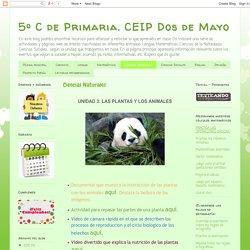 5º C de Primaria. CEIP Dos de Mayo: Ciencias Naturales