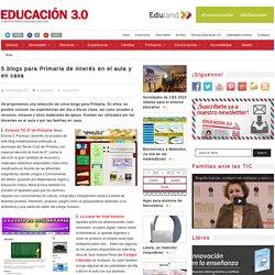 5 blogs para Primaria de interés en el aula y en casa