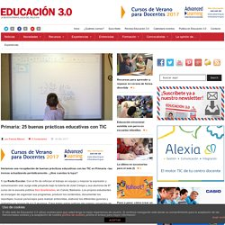 Primaria: 25 buenas prácticas educativas con TIC