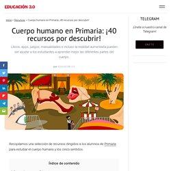 Cuerpo humano en Primaria: ¡40 recursos por descubrir!
