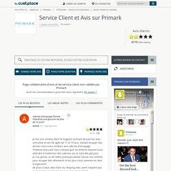 Primark : Avis Consommateurs et Service Client