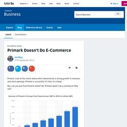 Primark Doesn't Do E-Commerce