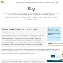 Primark – what's the secret to its success?
