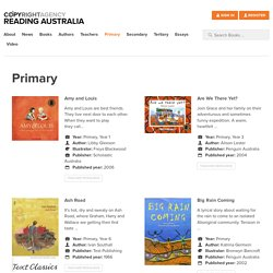 Primary Archives - Reading Australia