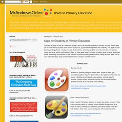 Apps for Creativity in Primary Education