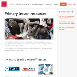 Primary lesson resources
