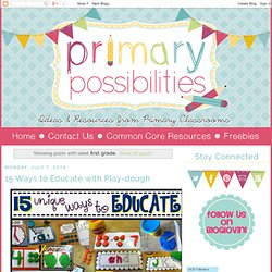 Primary Possibilities: first grade
