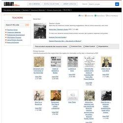 Teacher Resources - Library of Congress