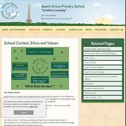 Beech Grove Primary School - School Context, Ethos and Values