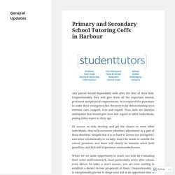 Primary and Secondary School Tutoring Coffs in Harbour – General Updates