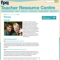 Primary - Teacher Resource Centre