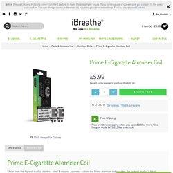 Prime E-Cigarette Atomiser Coil