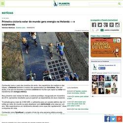 Primeira ciclovia solar do mundo gera energia na Holanda — e surpreende