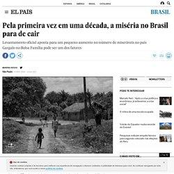 Pela primeira vez em uma década, a miséria no Brasil para de cair