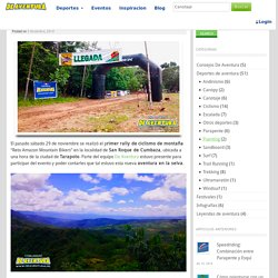 """Primer rally de ciclismo: Reto Amazon Mountain Bikers"""