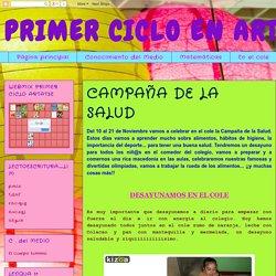 PRIMER CICLO EN ARTATSE: CAMPAÑA DE LA SALUD