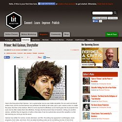 Primer: Neil Gaiman, Storyteller