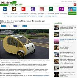 Este es Mö, el primer vehículo solar del mundo que puedes comprar