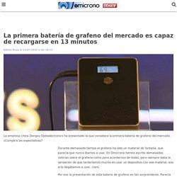 Esta es la primera batería de grafeno del mercado