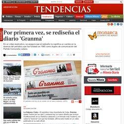 Por primera vez, se rediseña el diario 'Granma'