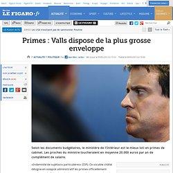 Primes : Valls dispose de la plus grosse enveloppe - Pale Moon