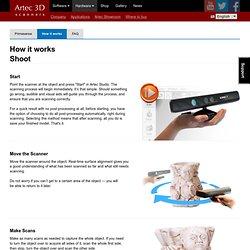 Primesense — How it works — Artec 3D Scanners