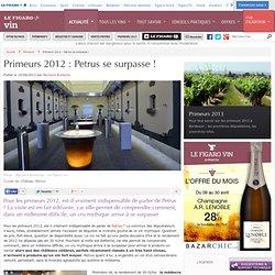 Primeurs 2012 : Petrus se surpasse !