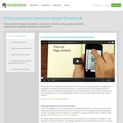 Iniziare a usare Evernote Smart Notebook