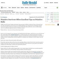 Primitive Survivors Offers Excellent Tips on Primitive Skills