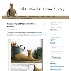 Primitive Folk Art by Old World Primitives
