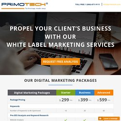 Digital Marketing Offerings