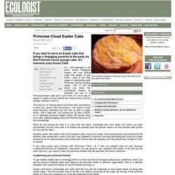 Primrose Cloud Easter Cake
