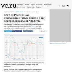 Кейс из России: Как приложение Prince попало в топ поисковой выдачи App Store